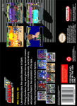 SNES - Gundam Wing: Endless Duel (back)