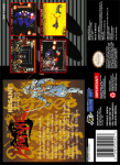 SNES - Hagane: The Final Conflict (back)