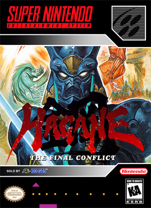 SNES - Hagane (front)