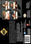 SNES - HammerLock Wrestling (back)