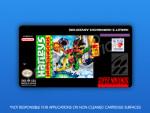SNES - Harley's Humongous Adventure Label