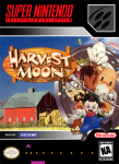 SNES - Harvest Moon (front)
