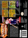 SNES - Harvest Moon (back)