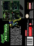 SNES - Hyper Metroid (back)