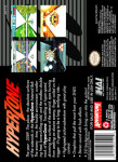 SNES - HyperZone (back)