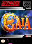 SNES - Illusion of Gaia (front)