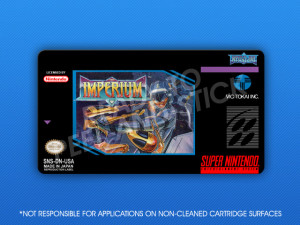 SNES - Imperium Label