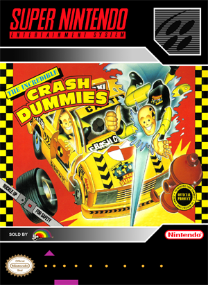 SNES ? Incredible Crash Dummies, The (front)