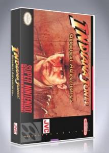 SNES - Indiana Jones Greatest Adventures