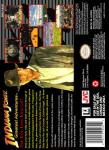 SNES - Indiana Jones Greatest Adventures (back)