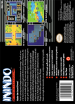 SNES - Inindo: Way of the Ninja (back)