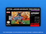 SNES - International Superstar Soccer Deluxe Label