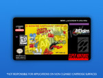 SNES - Itchy & Scratchy Game Label