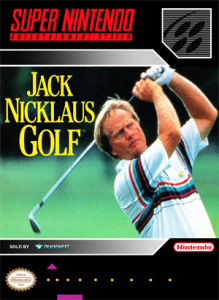 SNES - Jack Nicklaus Golf (front)