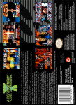 SNES - Jim Power in the Lost Dimension (back)