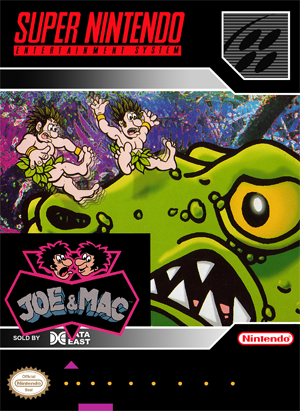 SNES - Joe & Mac (front)