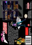 SNES - JoJo's Bizarre Adventure (back)
