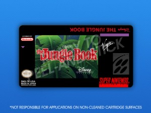 SNES - Jungle Book Label