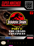 SNES - Jurassic Park Part 2: The Chaos Continues (front)
