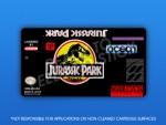 SNES - Jurassic Park Label
