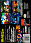 SNES - Justice League Task Force (back)