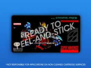 SNES - Killer Instinct Label