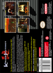 SNES - Killer Instinct (back)
