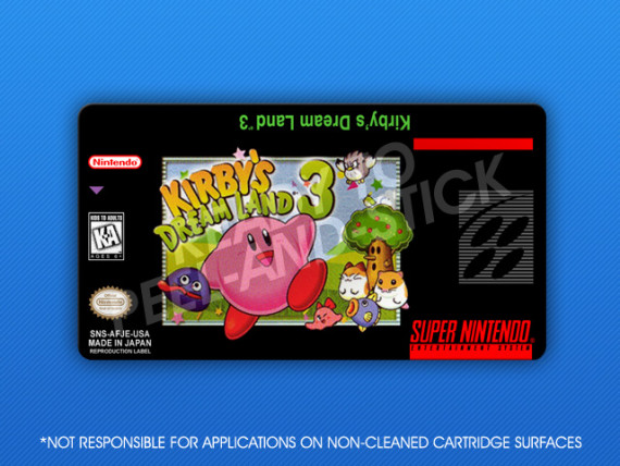 SNES - Kirby's Dream Land 3
