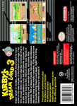 SNES - Kirby's Dream Land 3 (back)