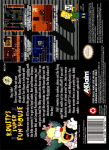 SNES - Krusty's Super Fun House (back)