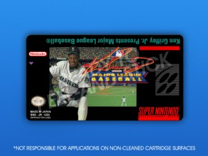 SNES - Ken Griffey Jr. Presents Major League Baseball Label