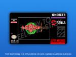 SNES - Legend Label