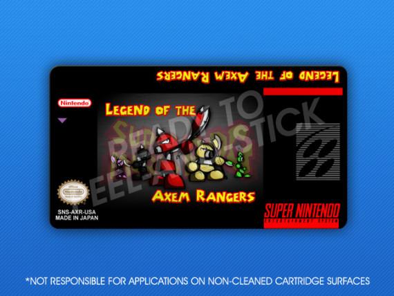 SNES - Legend of the Axem Rangers