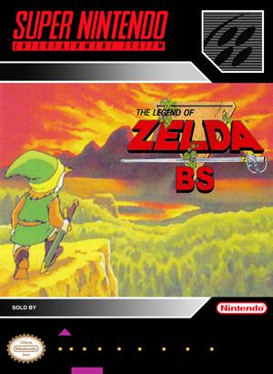 SNES - Legend of Zelda: BS, The (front)