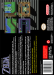 SNES - Legend of Zelda, The: Goddess of Wisdom (back)