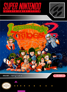 SNES ? Lemmings 2: The Tribe (front)