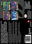 SNES - Lemmings (back)