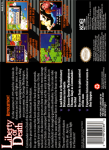 SNES - Liberty or Death (back)