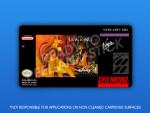 SNES - The Lion King Label