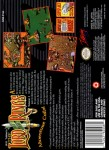 SNES - Lord of the Rings, The: Volume 1 (back)