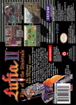 SNES - Lufia II: Rise of the Sinistrals (back)
