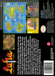 SNES - Lufia & The Fortress of Doom (back)