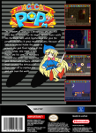 SNES - Magical Pop'n (back)