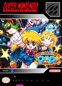 SNES - Magical Pop'n (front)