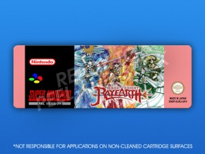 SNES - Magic Knight Rayearth Label