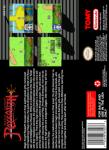 SNES - Magic Knight Rayearth (back)