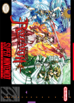 SNES - Magic Knight Rayearth (front)