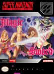 SNES - Magic Sword (front)