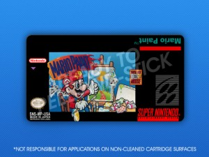 SNES - Mario Paint Label