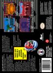 SNES - Mario's Time Machine (back)
